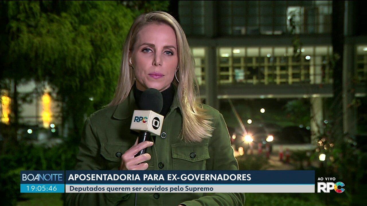 Deputados estaduais querem debater no supremo a aposentadoria de ex-governadores