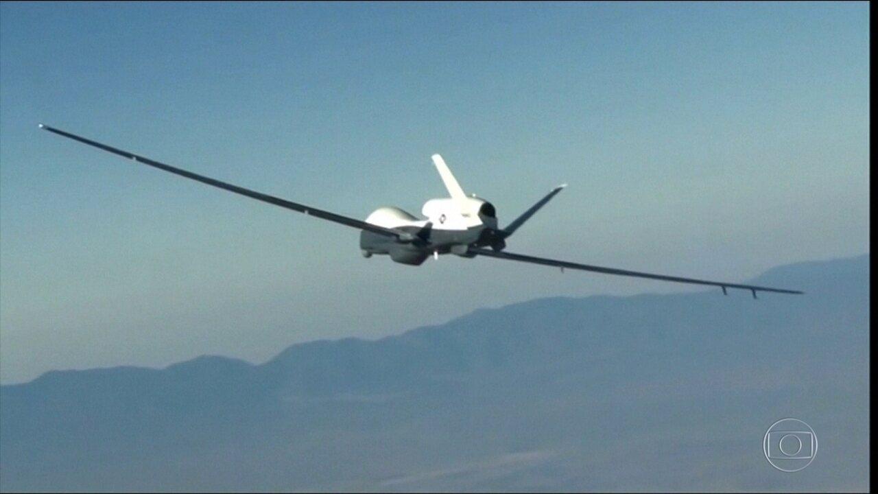 Irã abate drone espião dos EUA no Oriente Médio