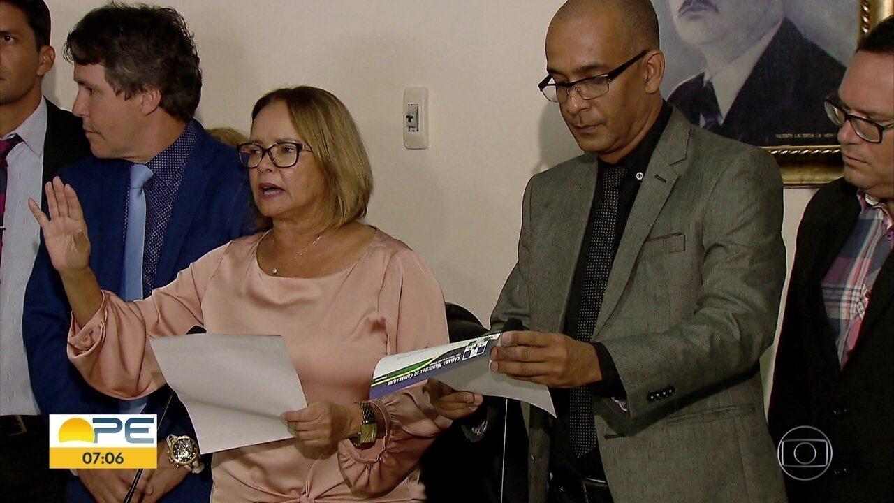 Vice-prefeita de Camaragibe assume gestão após prisão de Demóstenes Meira