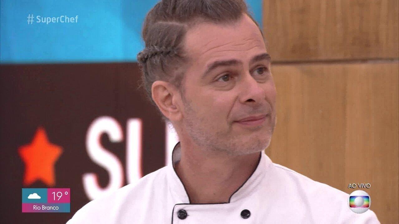 João Vitti ganha a última imunidade do 'Super Chef Celebridades 2019'