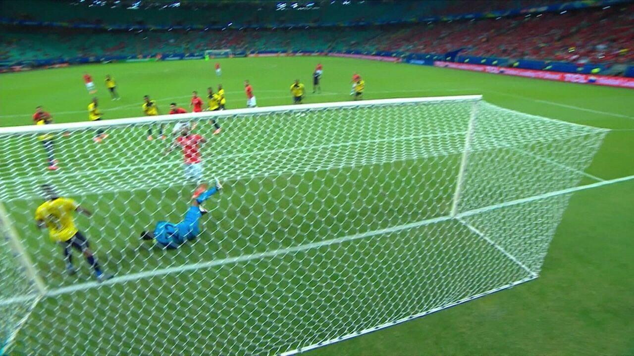 Melhores Momentos de Equador 1 X 2 Chile pela Copa América