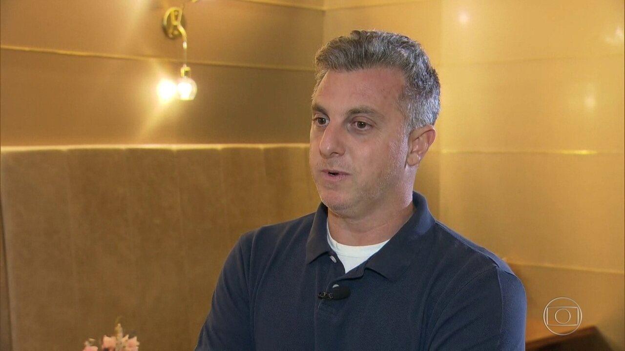 Luciano Huck fala sobre acidente do filho Benício e agradece apoio