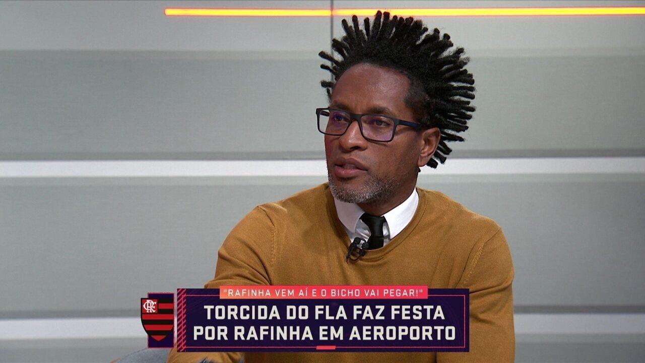 Zé Roberto acredita que Rafinha pode agregar em muito o Flamengo com sua experiência