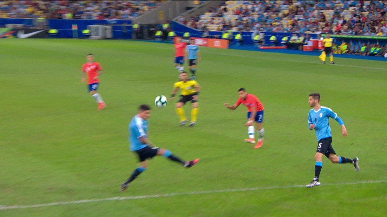 Melhores momentos de Chile 0 x 1 Uruguai pela Copa América 2019