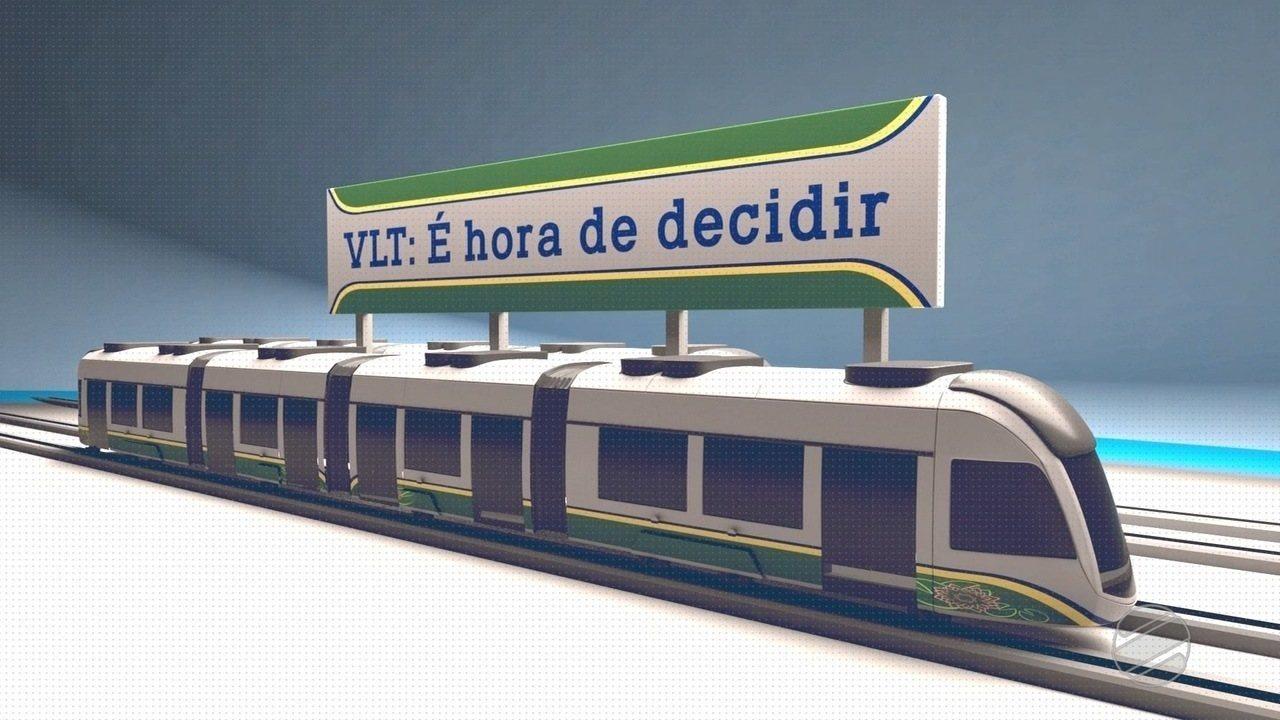 """""""VLT: é hora de decidir"""" mostra o impasse em torno da obra que começou em 2012"""