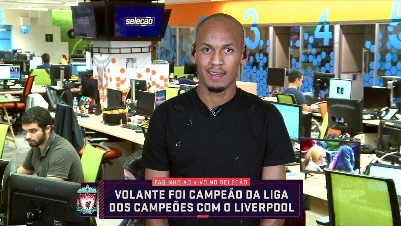 Meio-campo do Liverpool, Fabinho fala de ausência na escalação do Brasil para a Copa América
