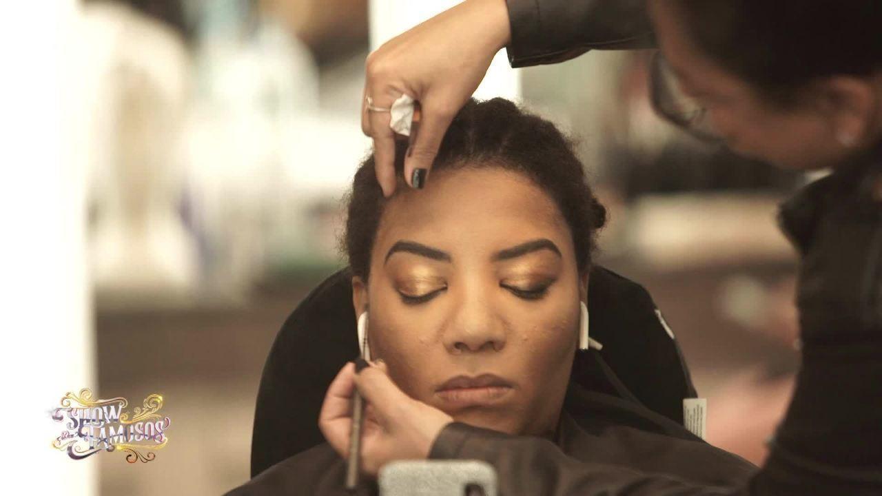 Veja a preparação de Ludmilla para homenagear Rihanna no 'Show dos Famosos'