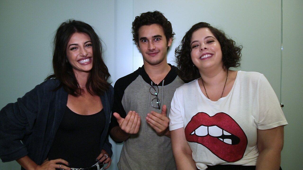 Anaju Dorigon, Guilhermina Libanio e Filipe Bragança falam sobre o grupo anti-Basma