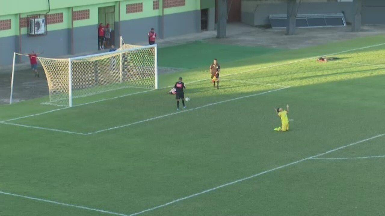Assista os gols e os pênaltis da decisão do 2º turno do Campeonato Acreano Sub-17