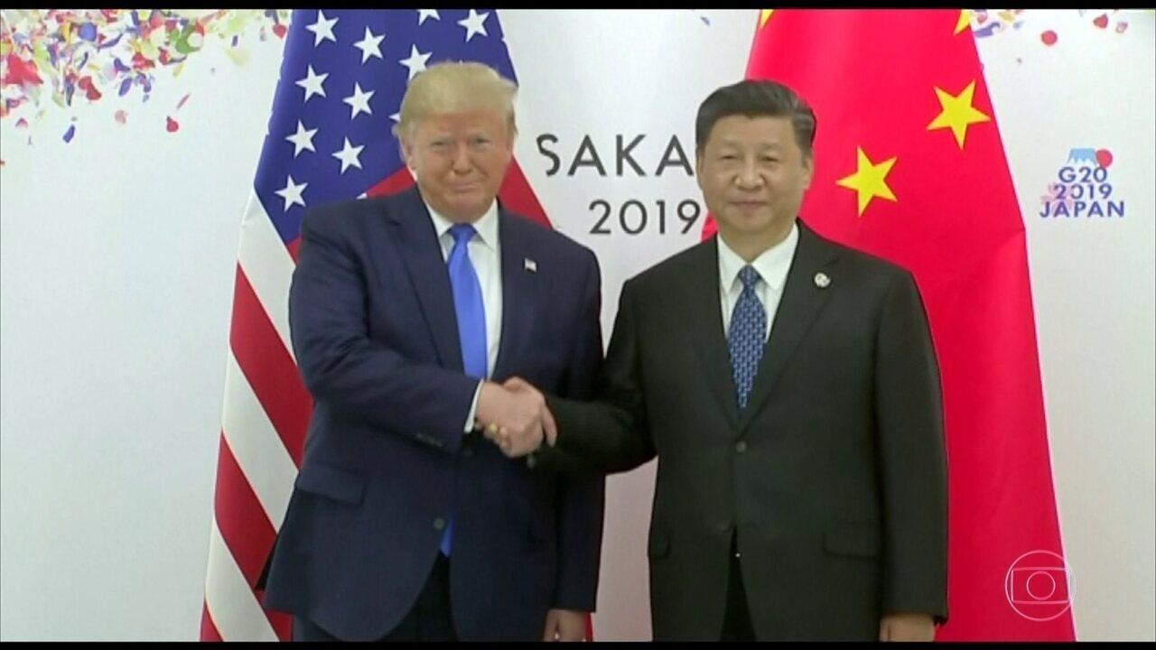 Mercados fecham em alta diante da expectativa do encontro entre Trump e Xi Jinping