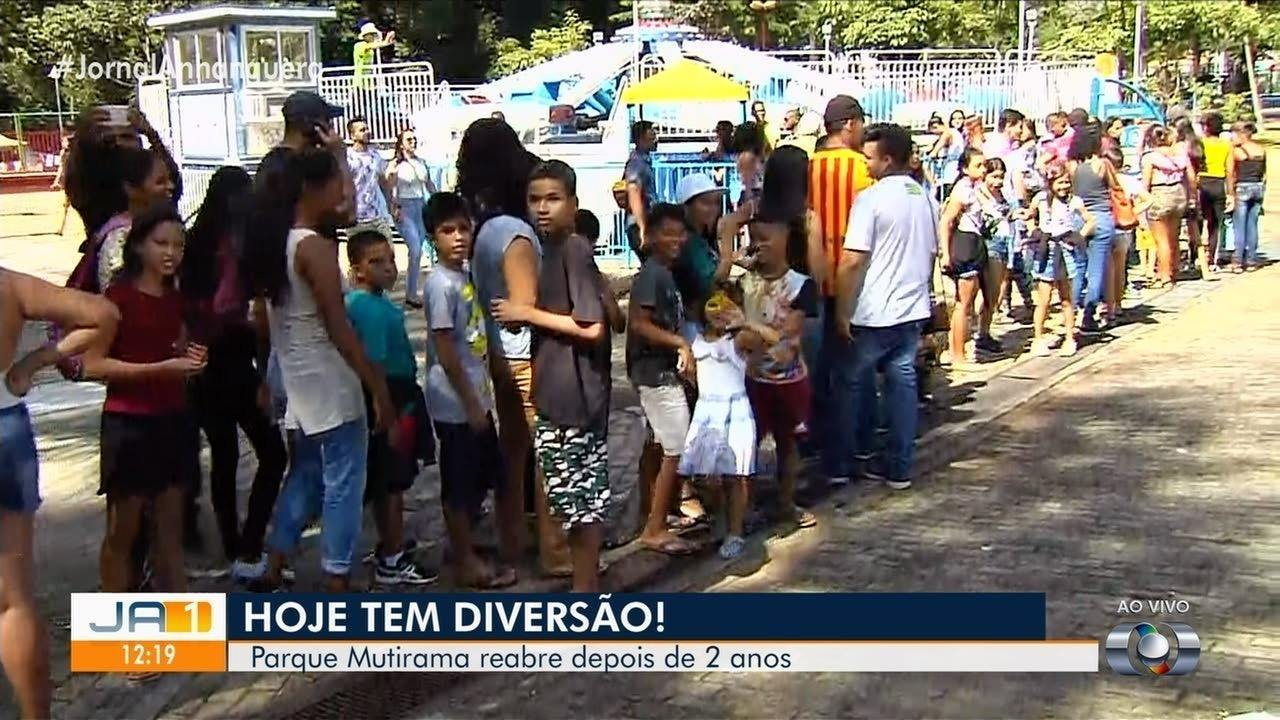 Prefeito de Goiânia anuncia entrada gratuita permanente no Mutirama, reaberto neste sábado
