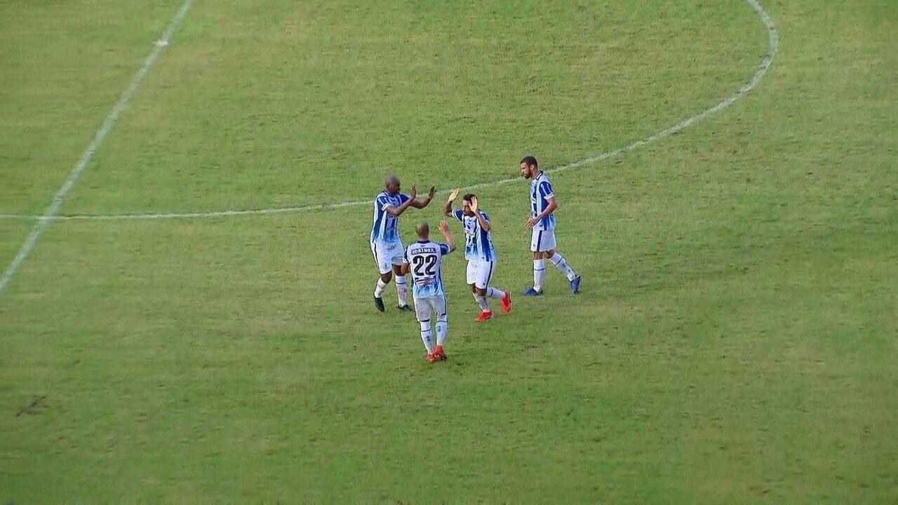 Robinho solta uma bomba da intermediária e empata amistoso contra o Sport