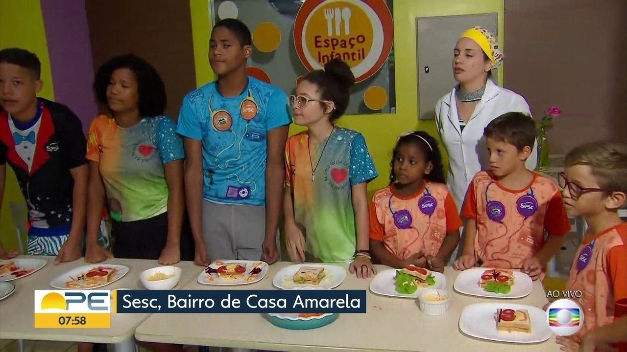 Sesc oferece programação especial de férias para crianças do Grande Recife