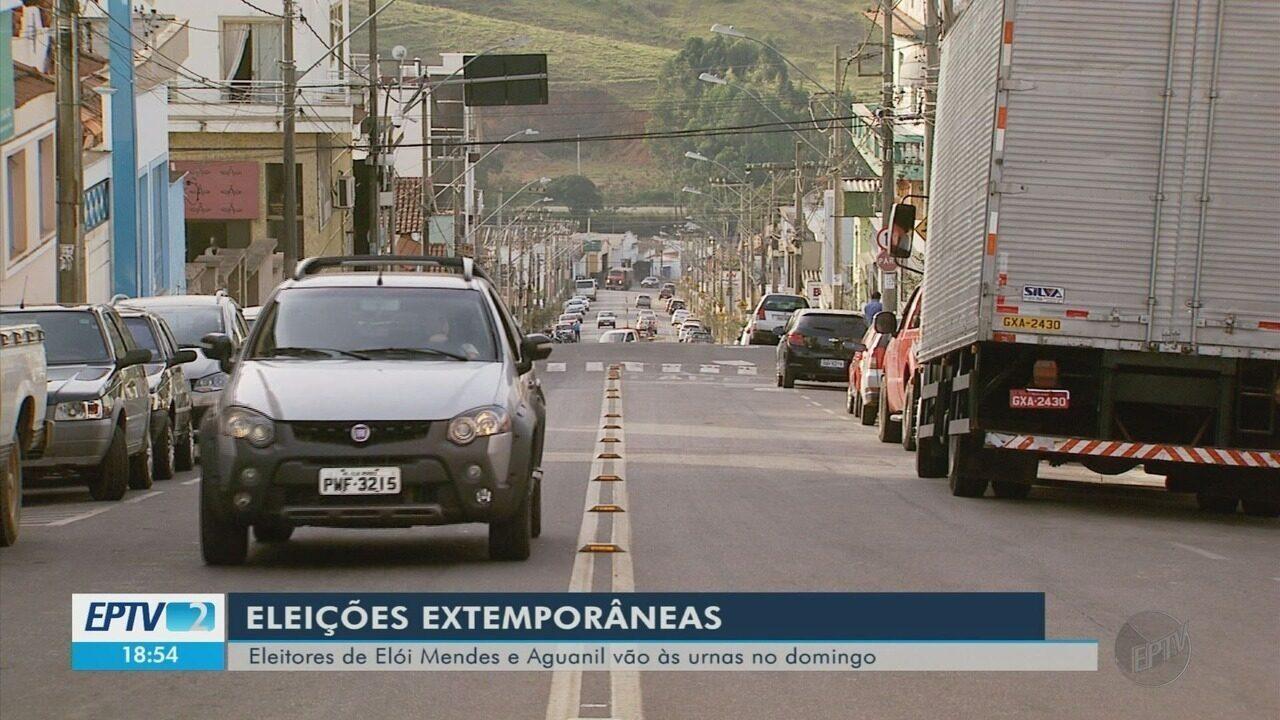 Aguanil e Elói Mendes escolhem novos prefeitos em eleições diretas no domingo