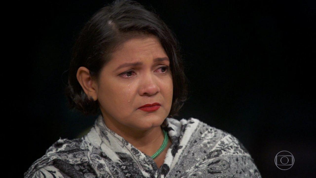 Claudelice diz que se preocupa com o futuro dos outros ativistas da Amazônia
