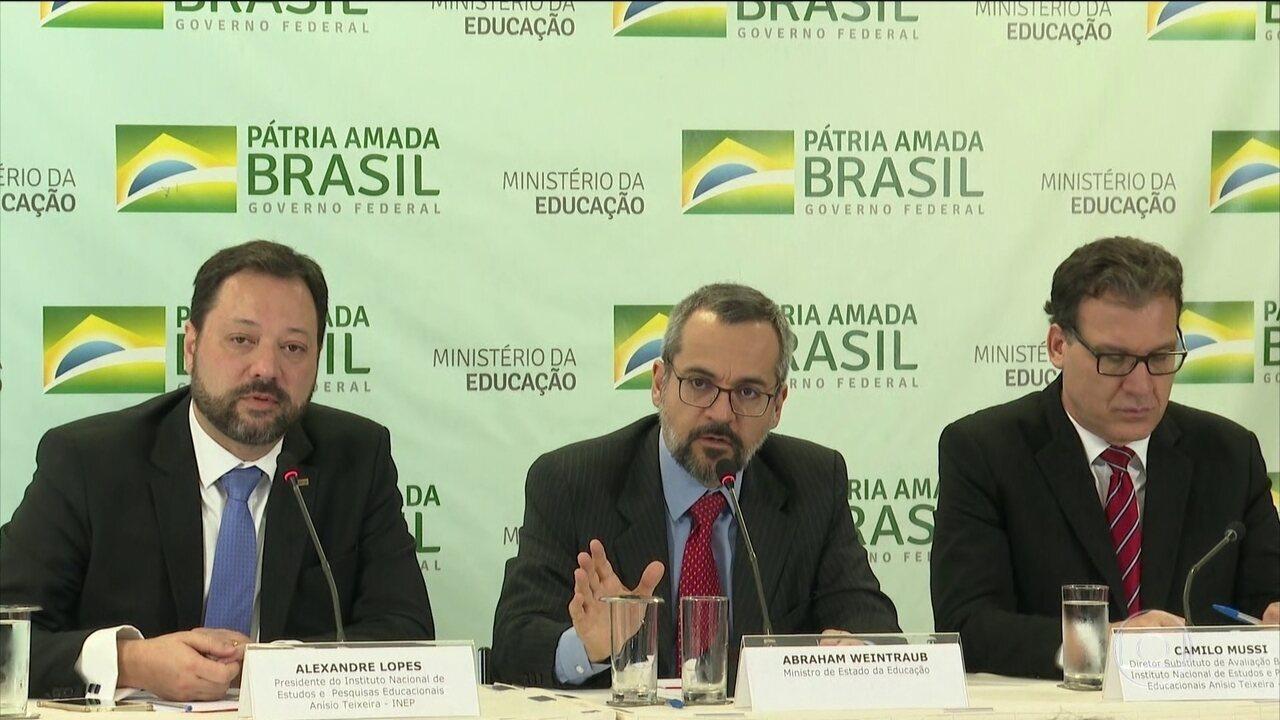 Ministério da Educação anuncia que Enem terá prova digital em 2020
