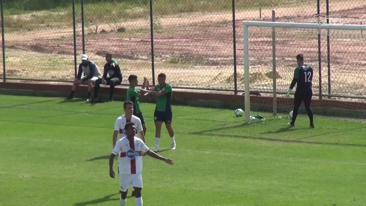 Confira os gols do jogo-treino entre Fluminense e Grêmio Osasco