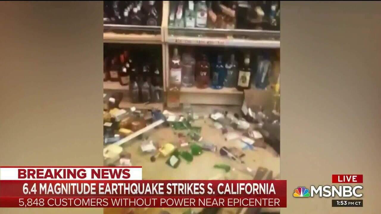 Terremoto de magnitude 6,4 atinge região sul da Califórnia, nos EUA