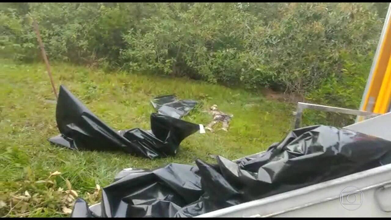 Polícia descobre cemitério de milícia em Itaboraí