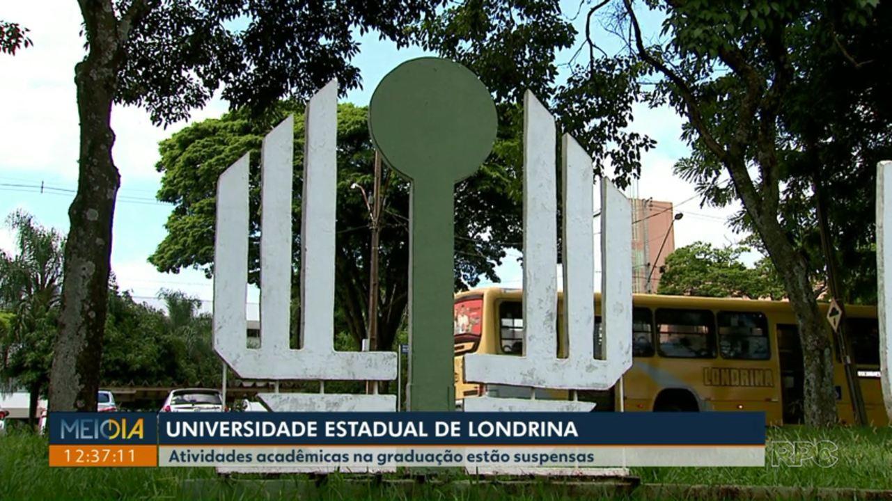 Atividades acadêmicas em cursos de graduação da UEL estão suspensas