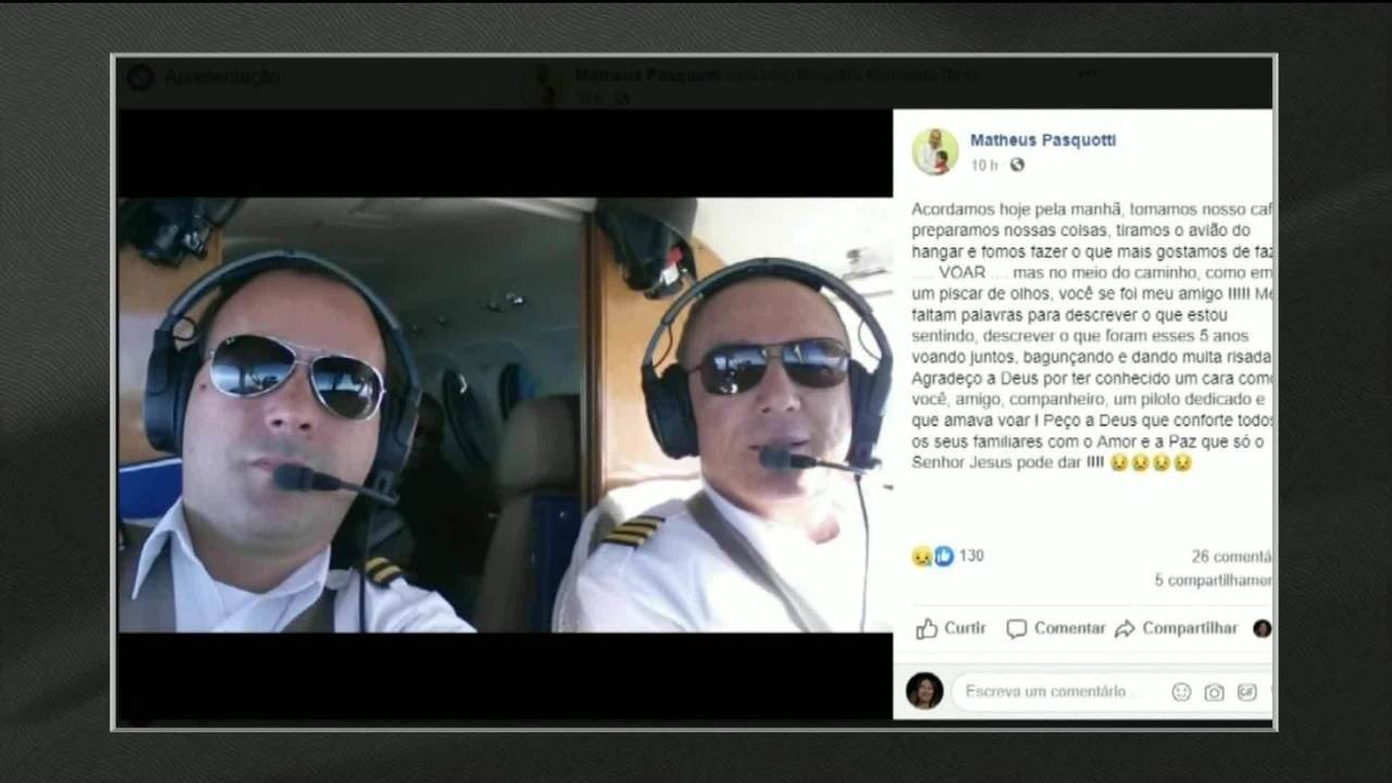 Piloto de avião bimotor passa mal e morre durante voo entre Bahia e São Paulo