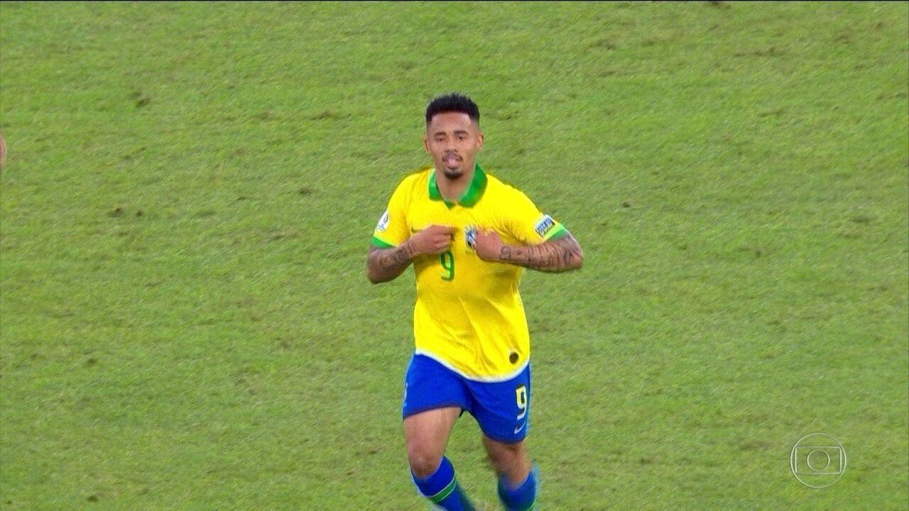 Veja a reportagem de Tino Marcos para o Fantástico após o título da Seleção na Copa América de 2019