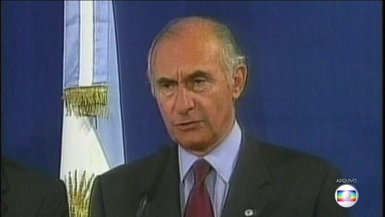 Fernando de la Rúa, ex-presidente argentino, morre ao 81 anos