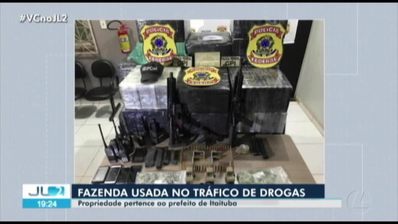 Prefeito de Itaituba é dono de fazenda onde foram encontrados mais de 500 de cocaína