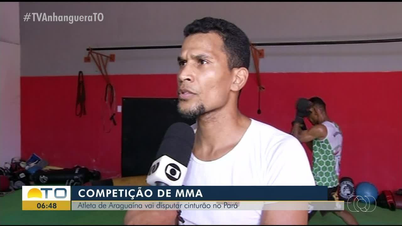 Atleta de Araguaína disputará cinturão em competição de MMA no Pará