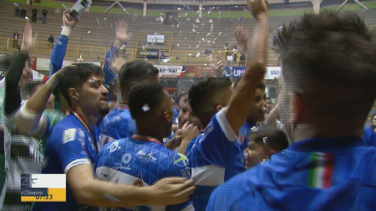 São Carlos conquista o título da Copa Paulista de Futsal