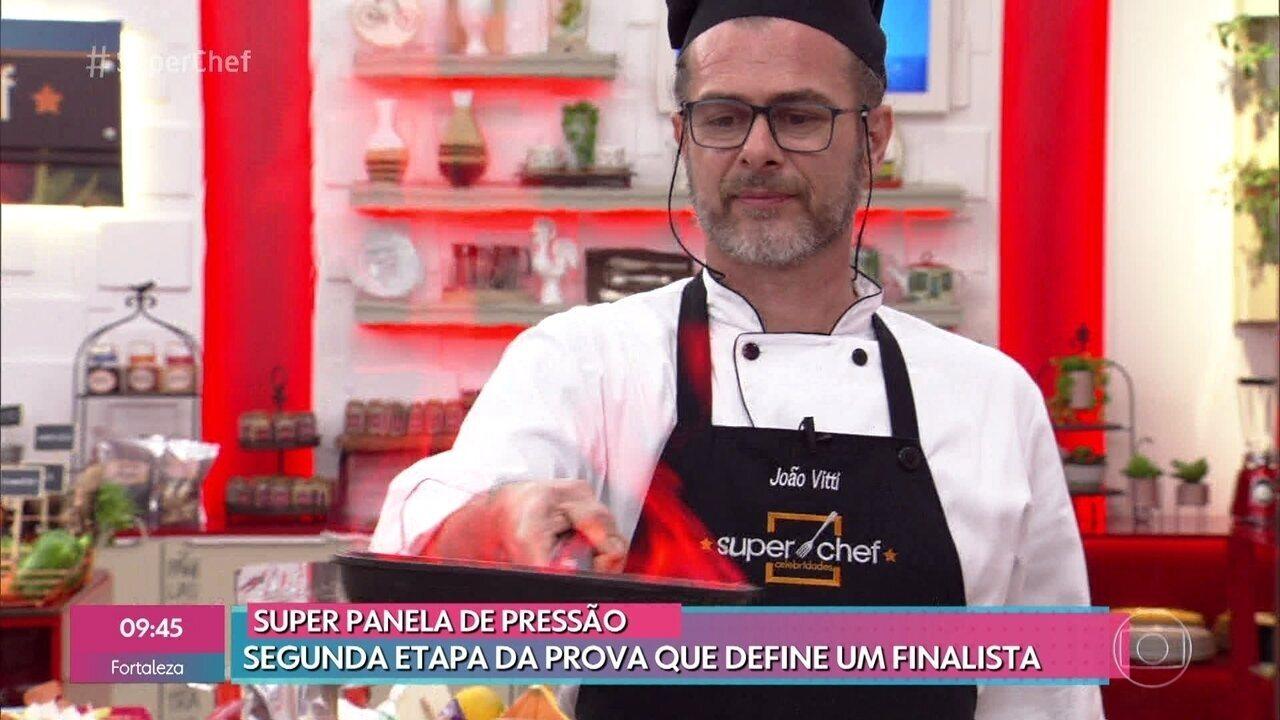 Veja a segunda parte da prova que define primeiro finalista do 'Super Chef Celebridades'