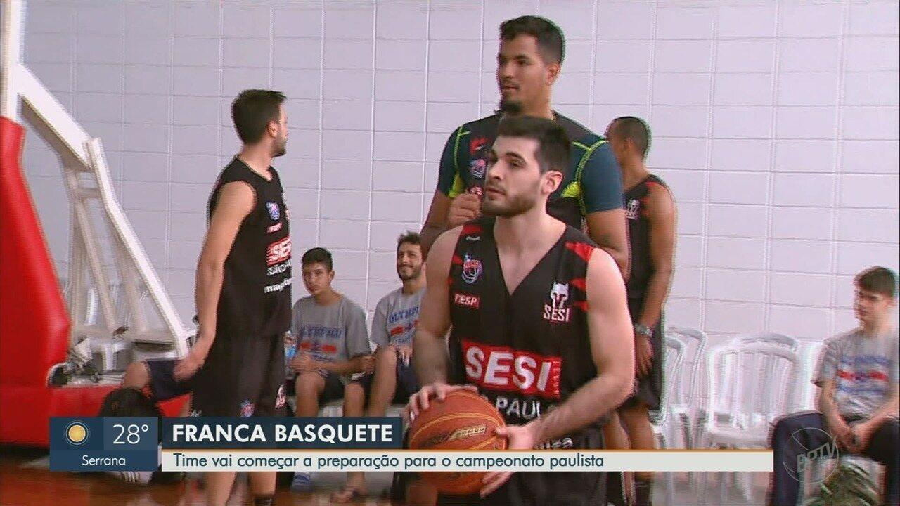 Franca Basquete vai começar a preparação para o Campeonato Paulista