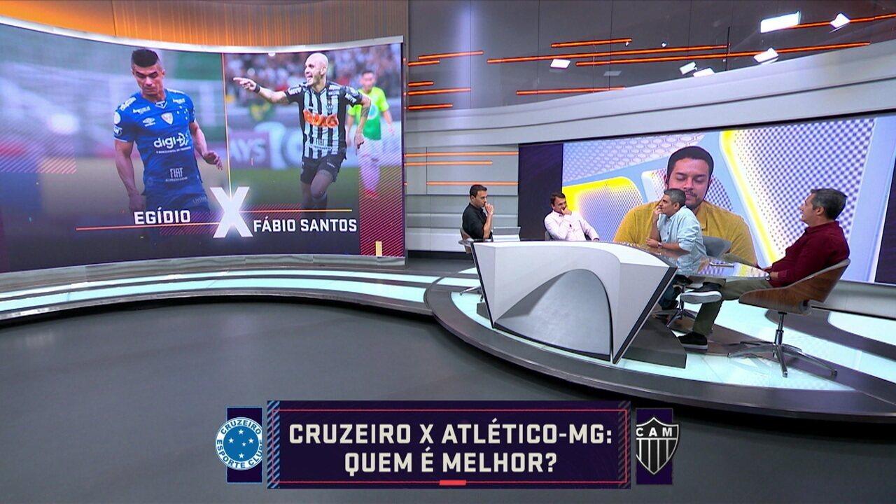 Comentaristas escolhem quem são os melhores no elenco de Minas Gerais
