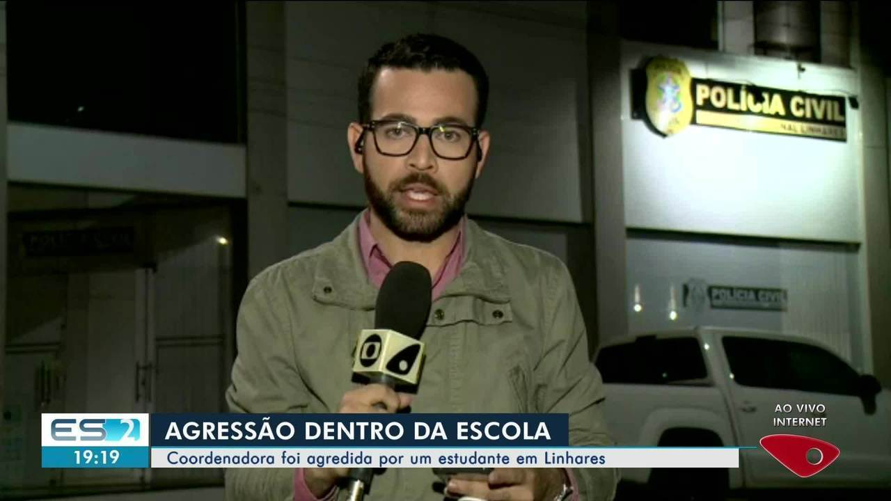 Coordenadora de escola é agredida em Linhares, ES