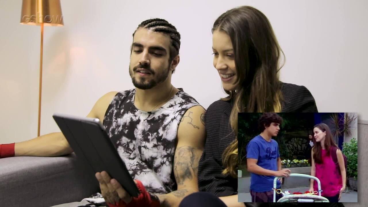 Nathalia Dill e Caio Castro relembram parceria em Malhação