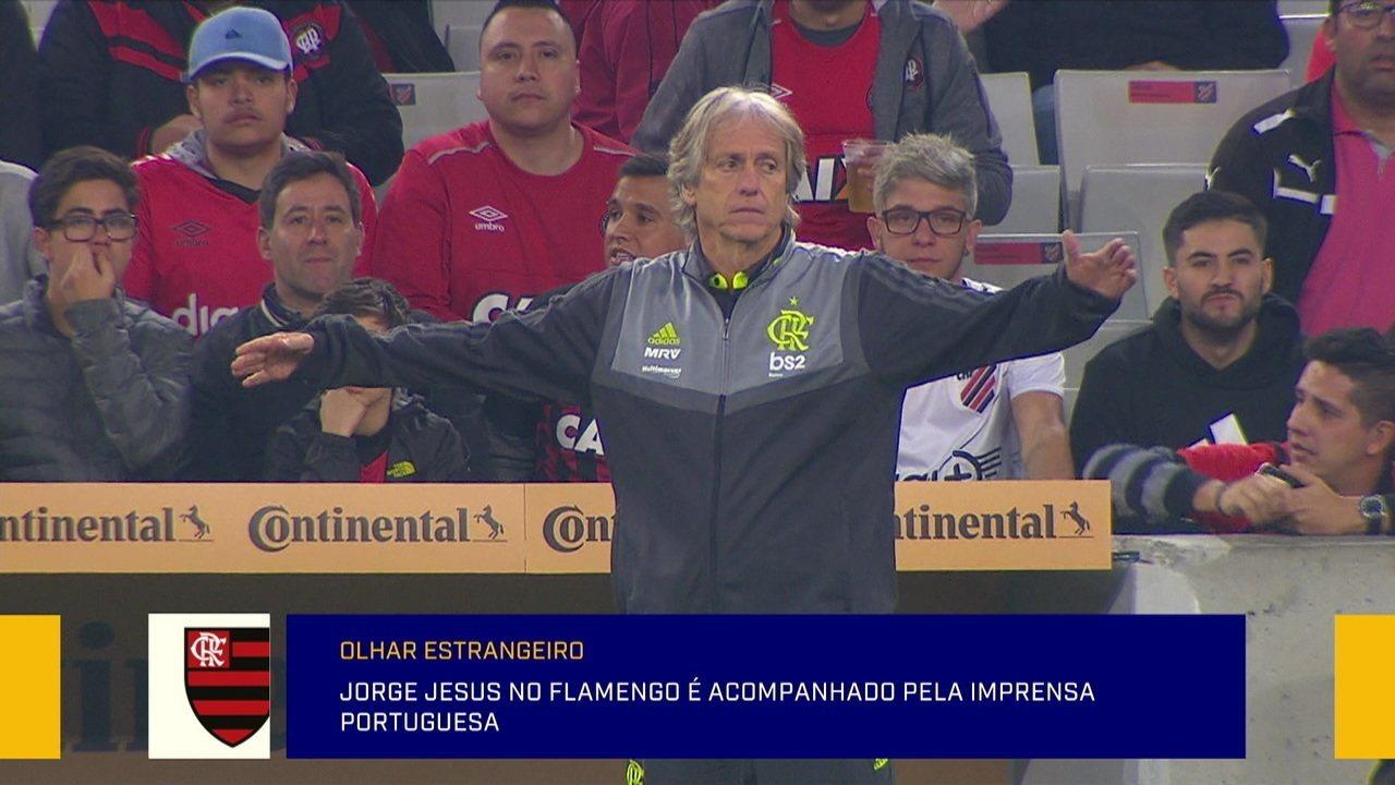 Jornalista portuguesa analisa início de Jorge Jesus no Flamengo
