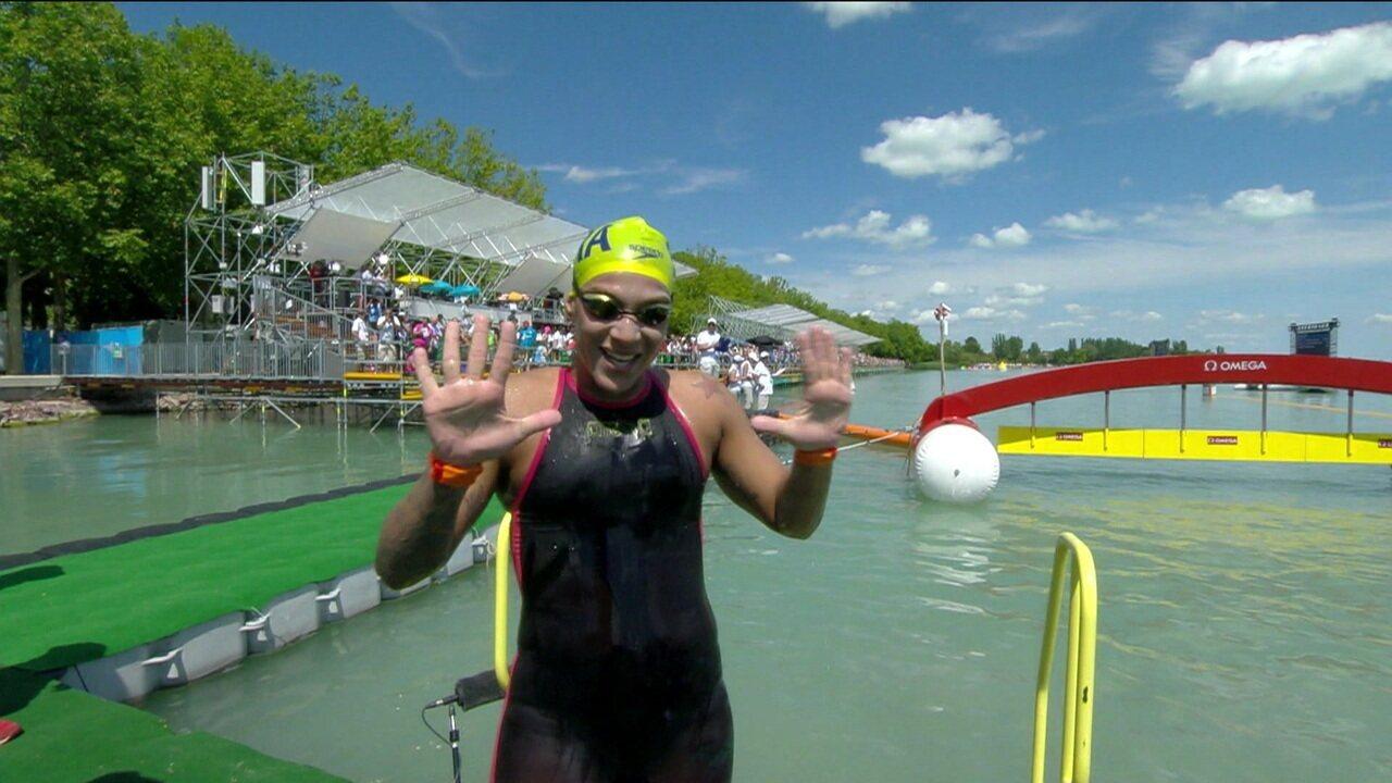 Tricampeã mundial, Ana Marcela Cunha espera bons resultados no Mundial de Esportes Aquáticos