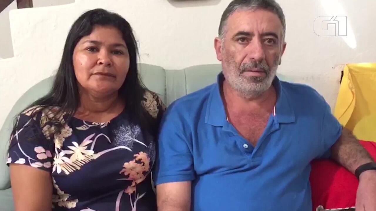 Mãe e pai de universitária morta em Pedra Branca falam sobre a prisão do suspeito Zé do Va