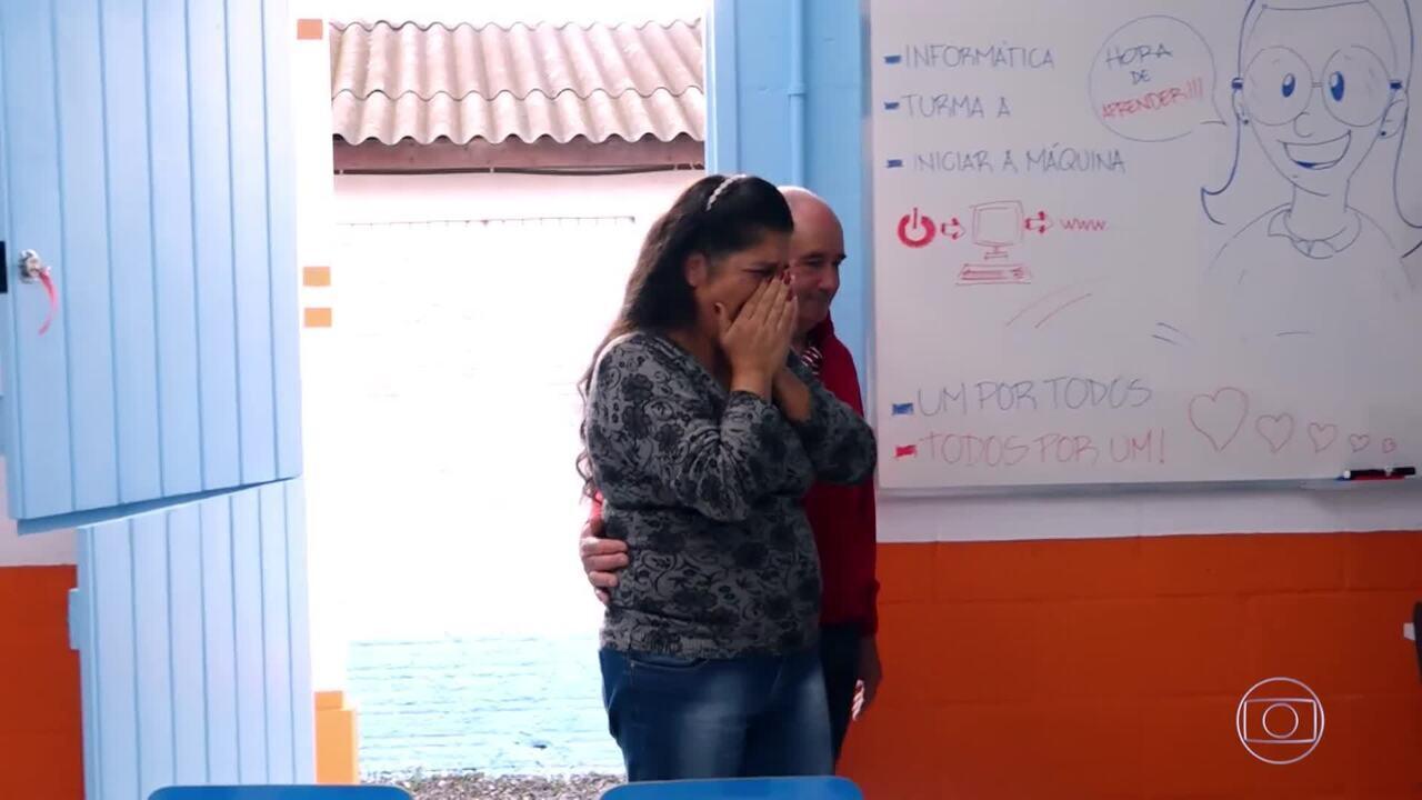 O projeto Social de Tia Lolo ganha uma reforma do 'Um Por Todos, Todos Por Um'