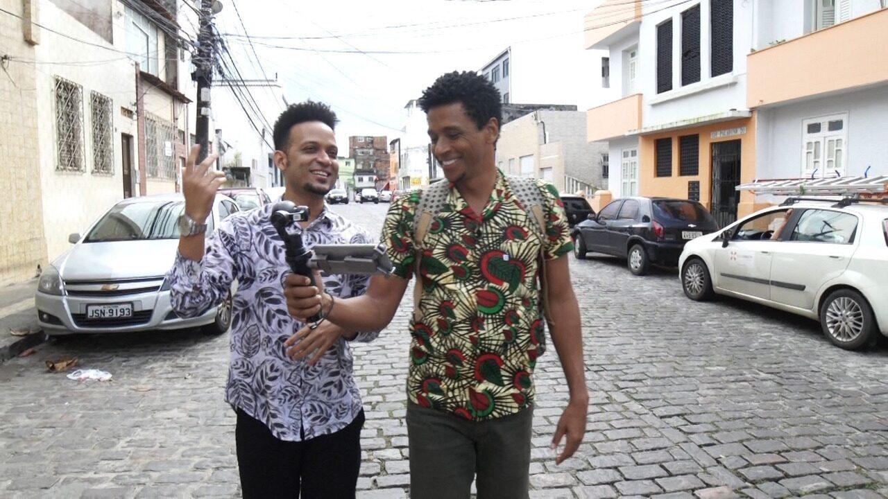 O 'Vumbora' conhece histórias e referências artísticas do Barbalho, em Salvador