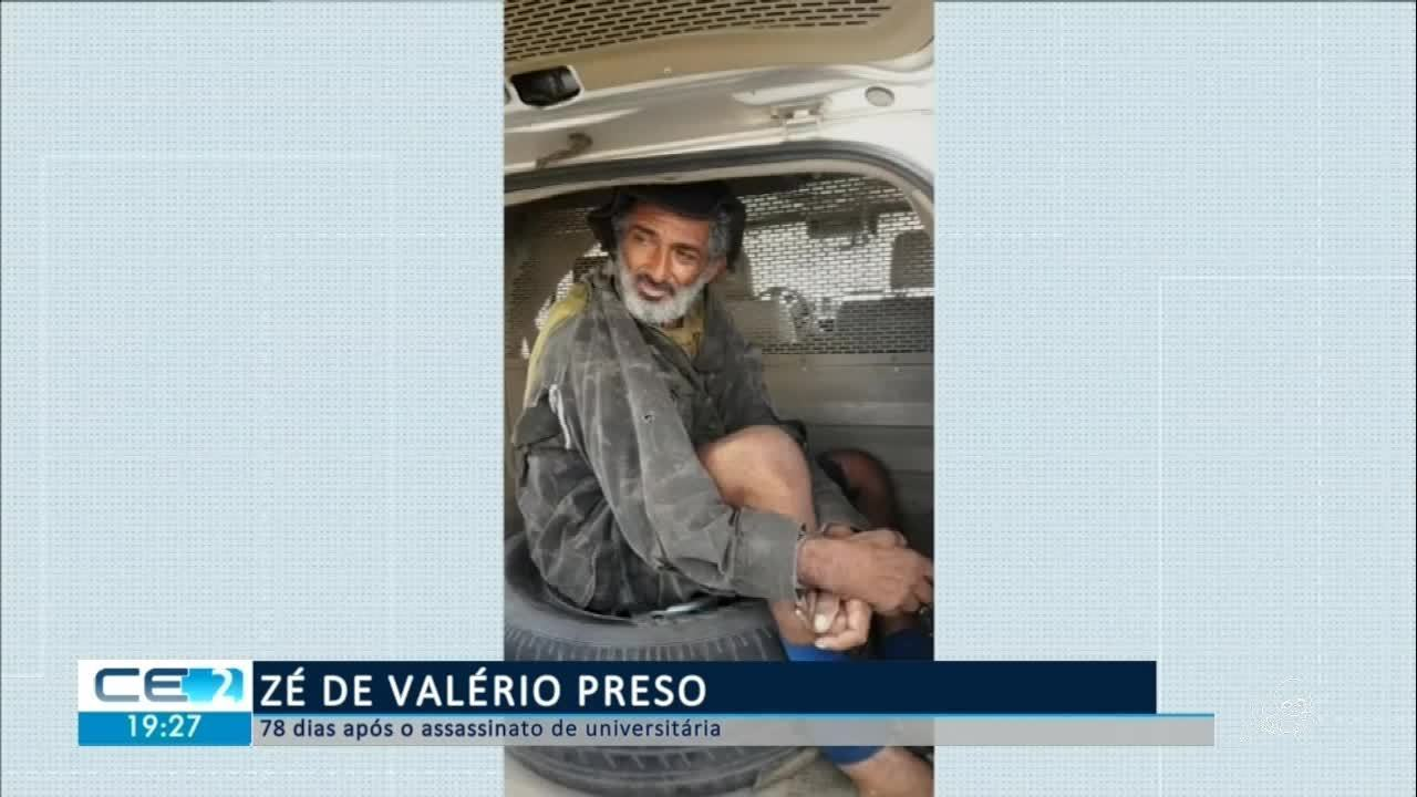 Zé do Valério é preso no Piauí