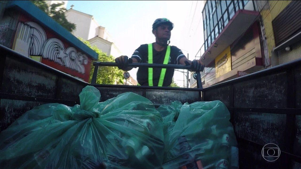 Tecnologia ajuda a gerar emprego e aumenta reciclagem do vidro