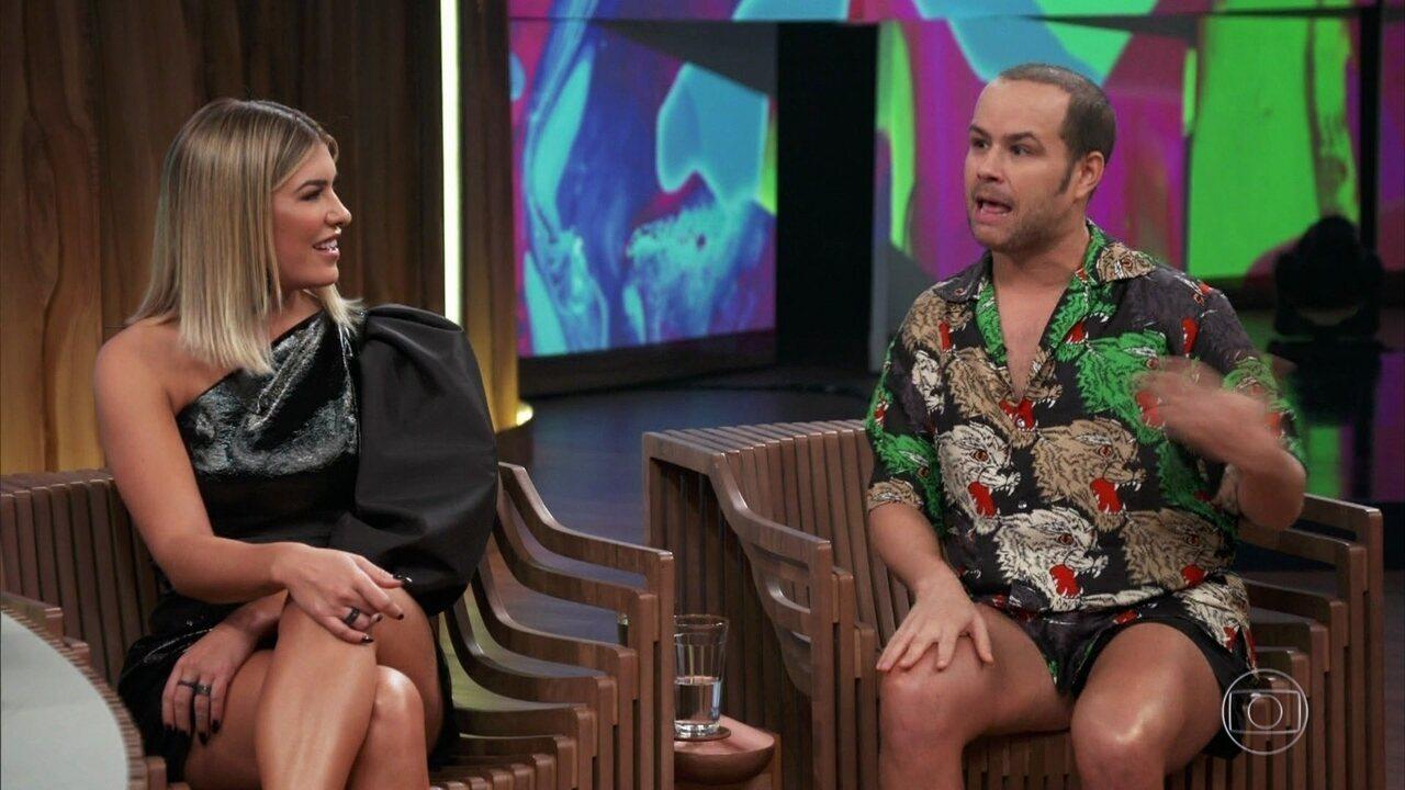 Justin se emociona ao lembrar da ajuda que recebeu quando chegou no Rio de Janeiro