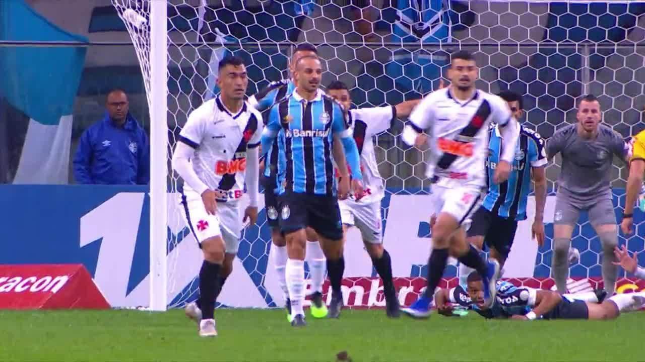 Melhores momentos de Grêmio 2 x 1 Vasco pela 10ª rodada do Campeonato Brasileiro