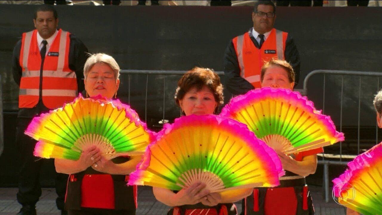 Festas japonesas animam o fim de semana em São Paulo