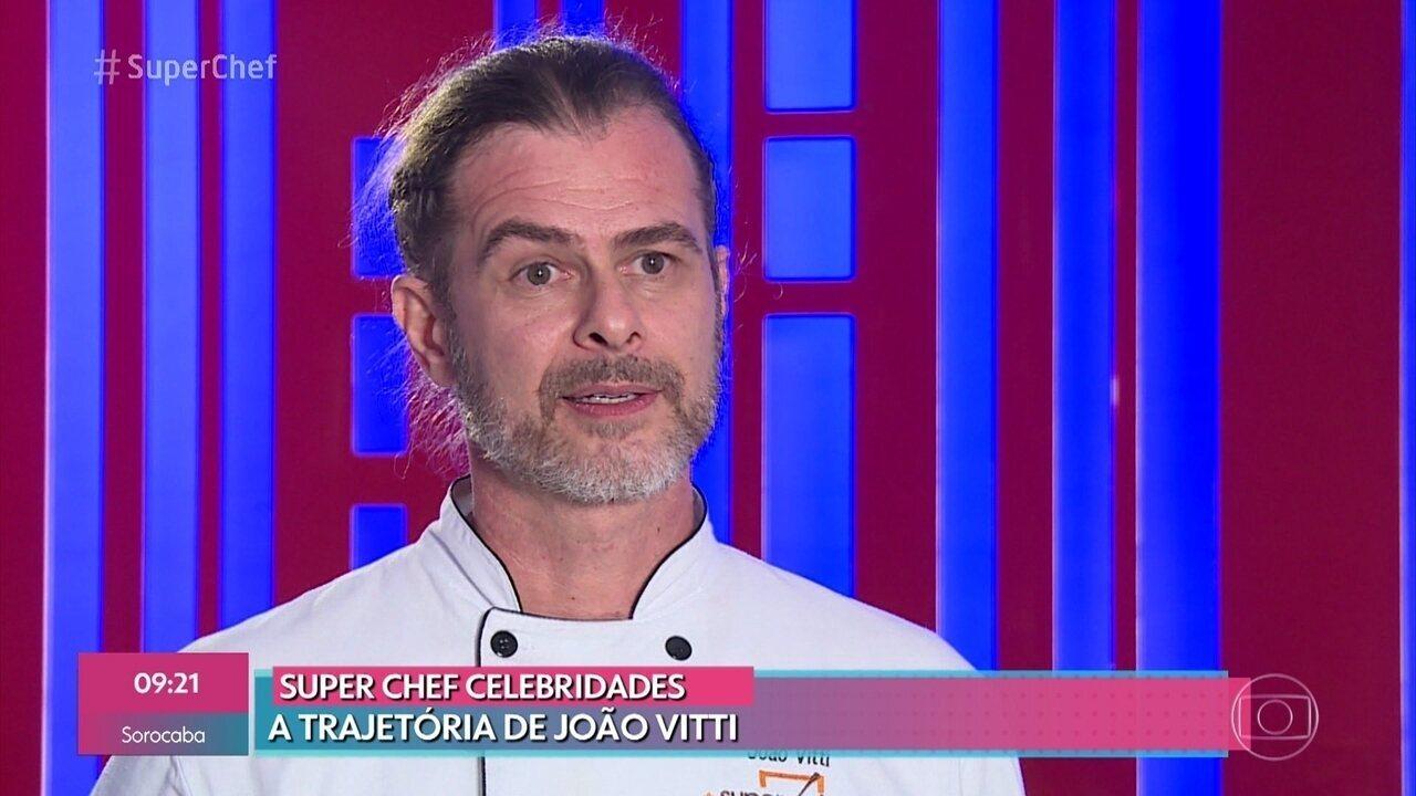 Relembre a trajetória de João Vitti no 'Super Chef Celebridades 2019'