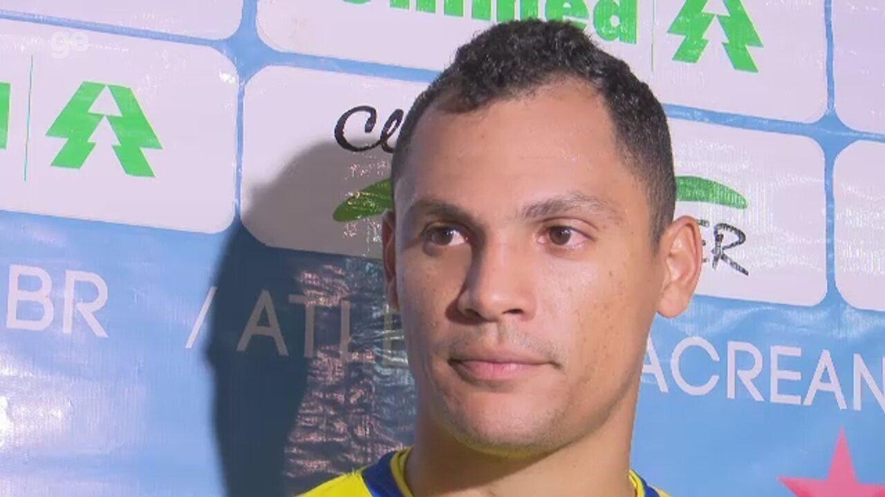 Goleiro do Atlético-AC não desanima após novo empate em casa e permanência na lanterna