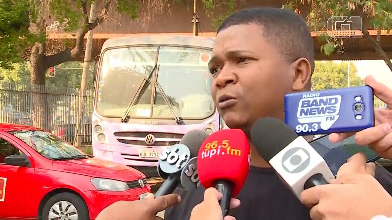 Pai de garoto baleado diz que ele não tinha envolvimento com o tráfico de drogas