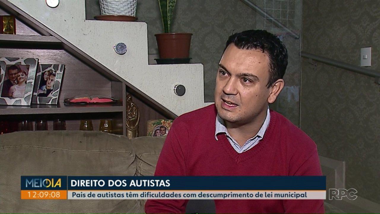 Resultado de imagem para Pais de autistas enfrentam problemas pelo descumprimento de lei municipal em Ponta Grossa