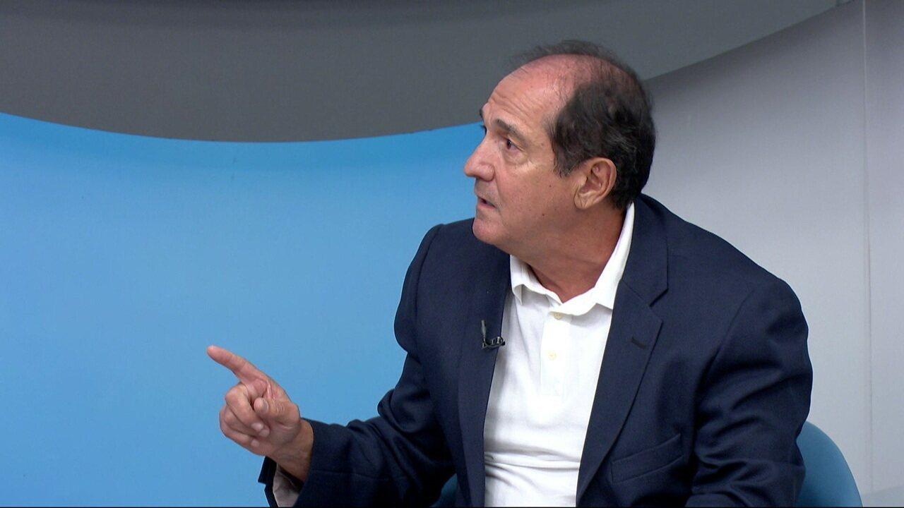 Muricy comenta esquema de jogo de Flamengo e Santos